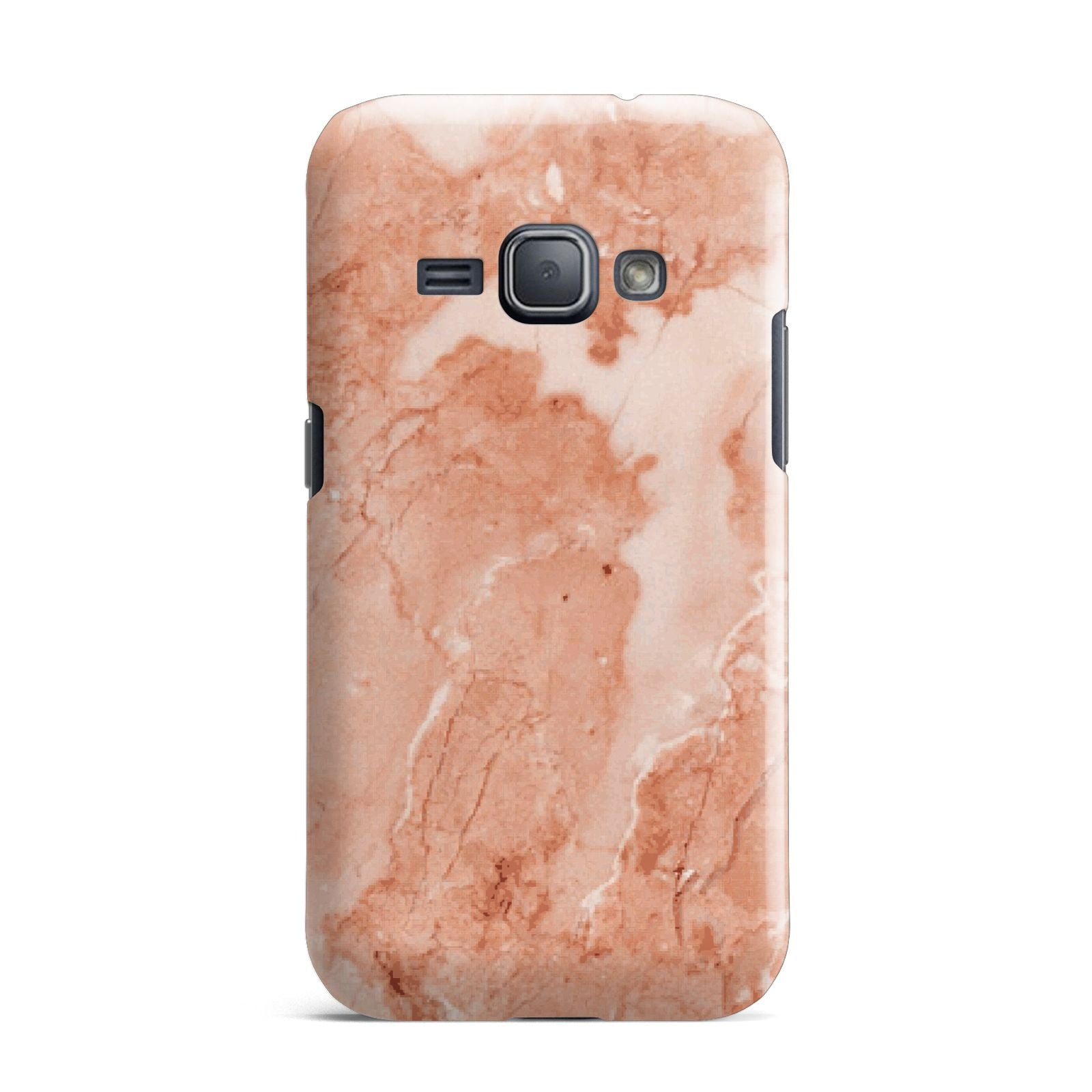 Faux Marble Red Samsung Galaxy J1 2016 Case