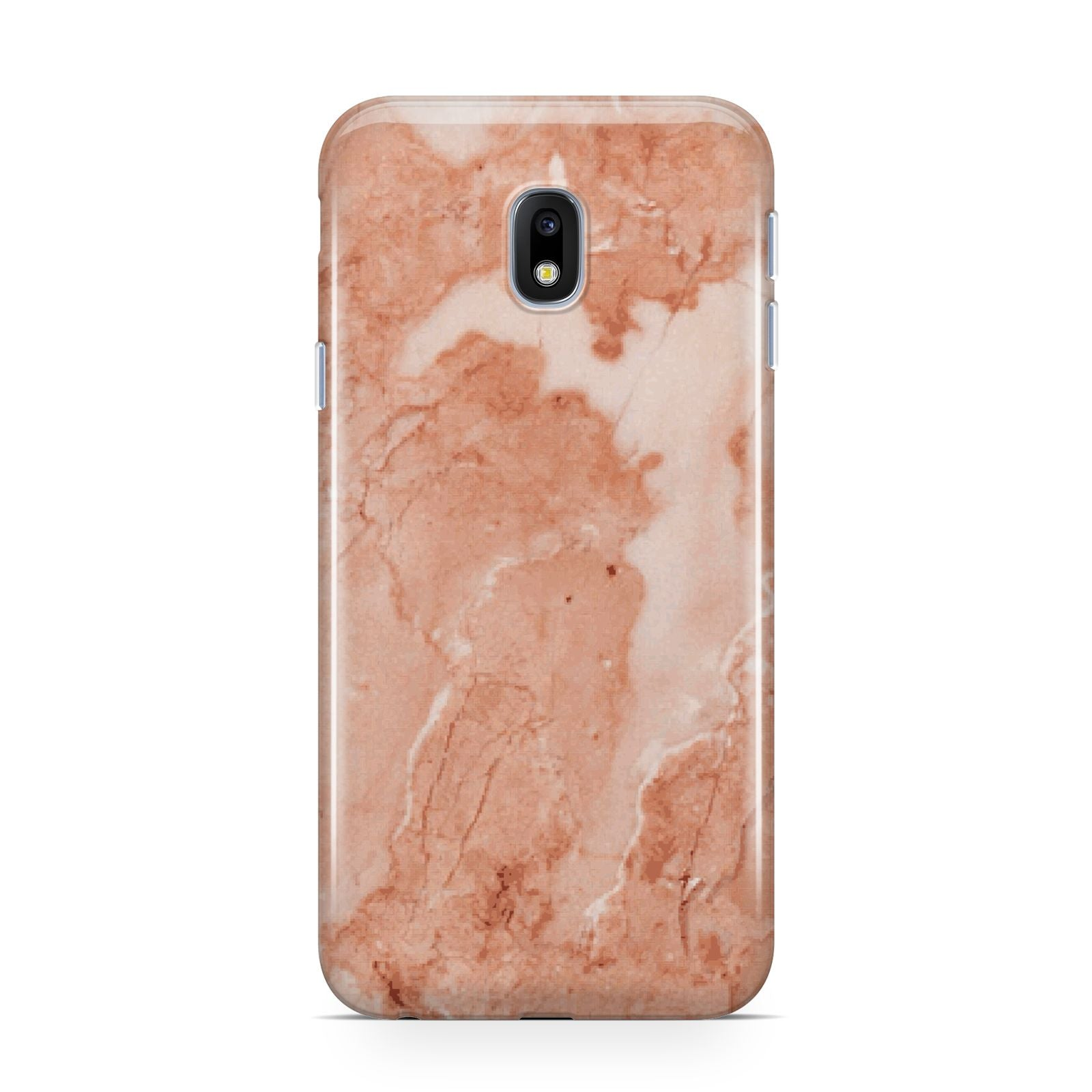 Faux Marble Red Samsung Galaxy J3 2017 Case