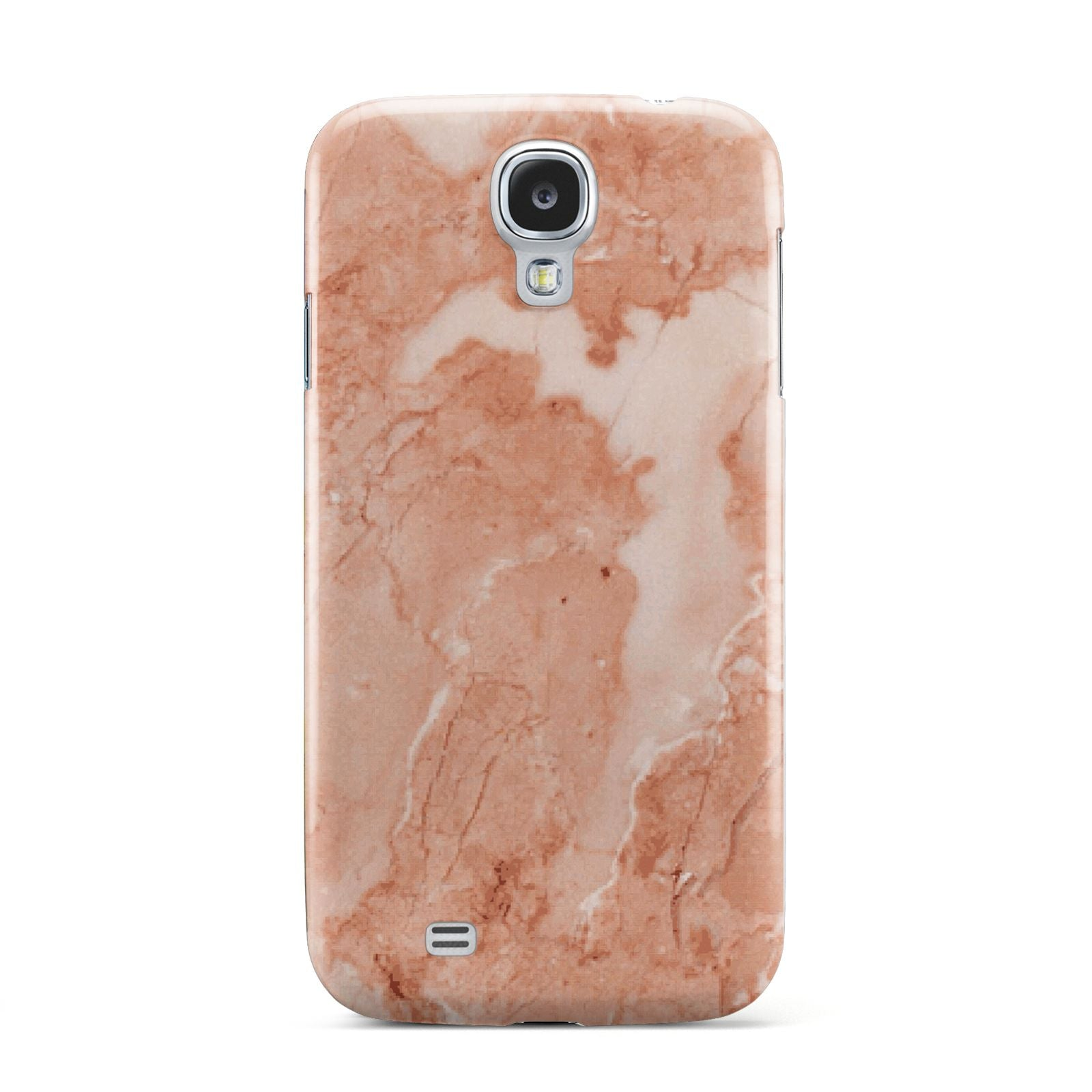Faux Marble Red Samsung Galaxy S4 Case