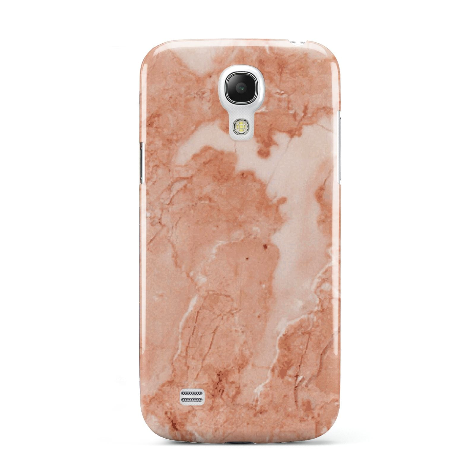 Faux Marble Red Samsung Galaxy S4 Mini Case