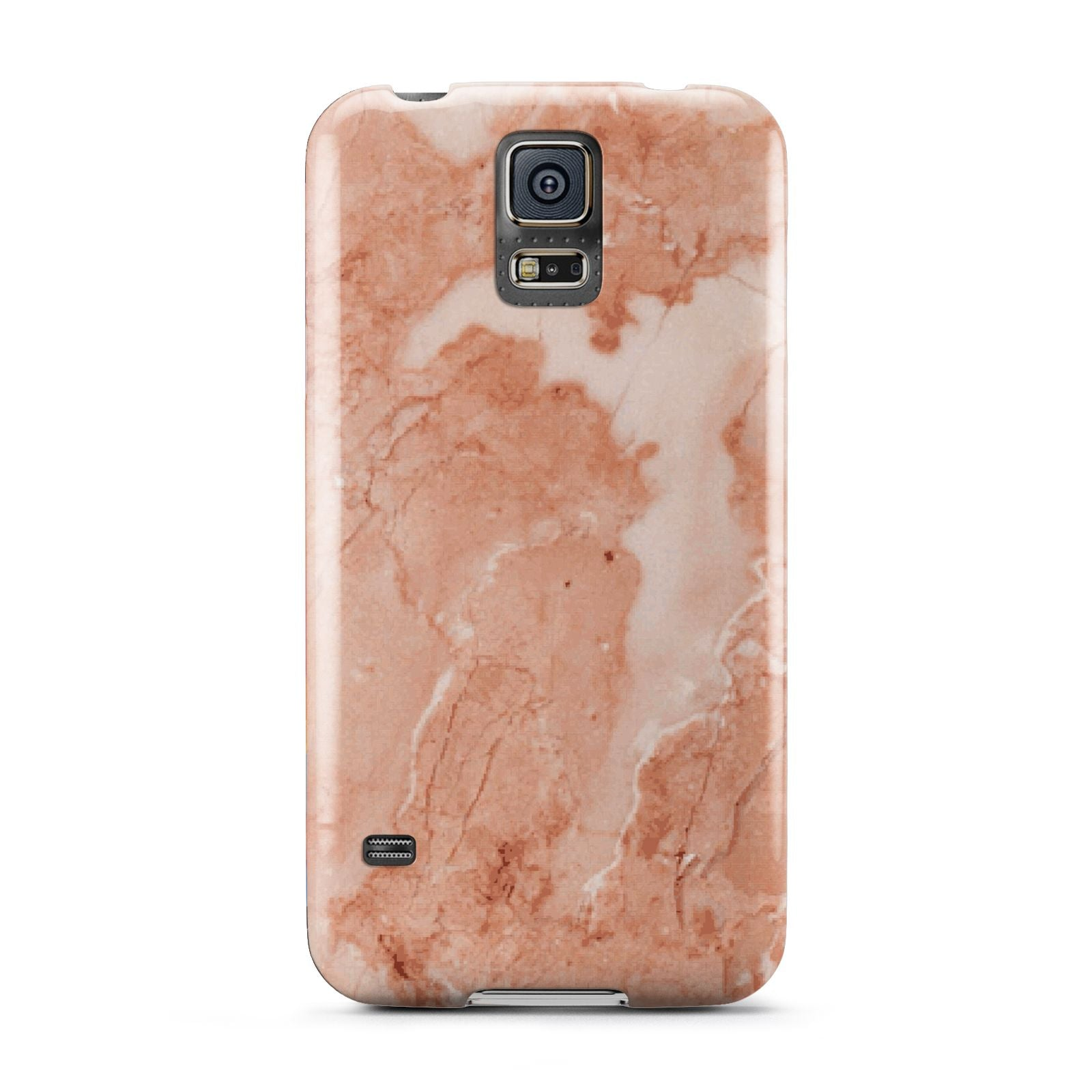 Faux Marble Red Samsung Galaxy S5 Case