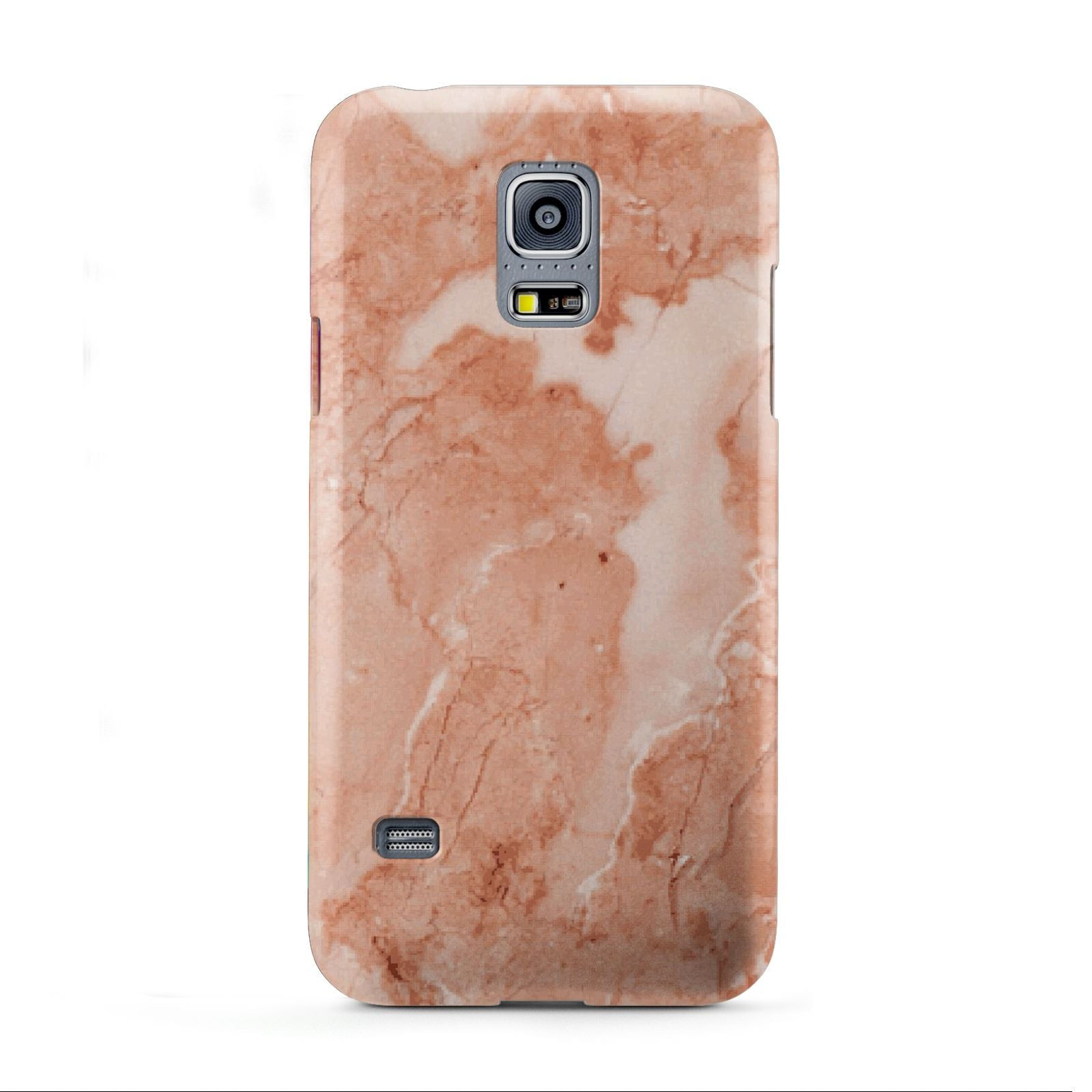 Faux Marble Red Samsung Galaxy S5 Mini Case