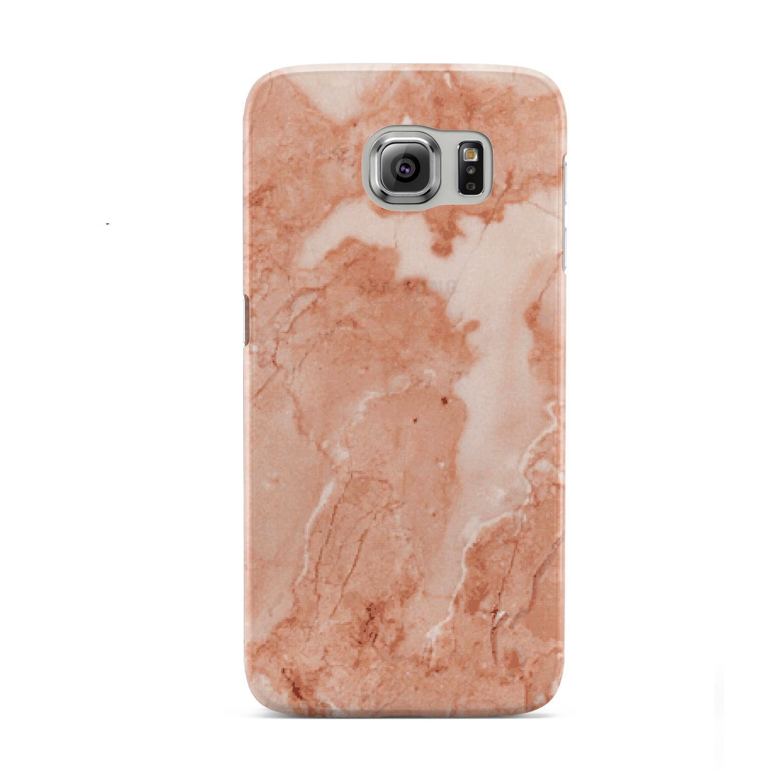 Faux Marble Red Samsung Galaxy S6 Case