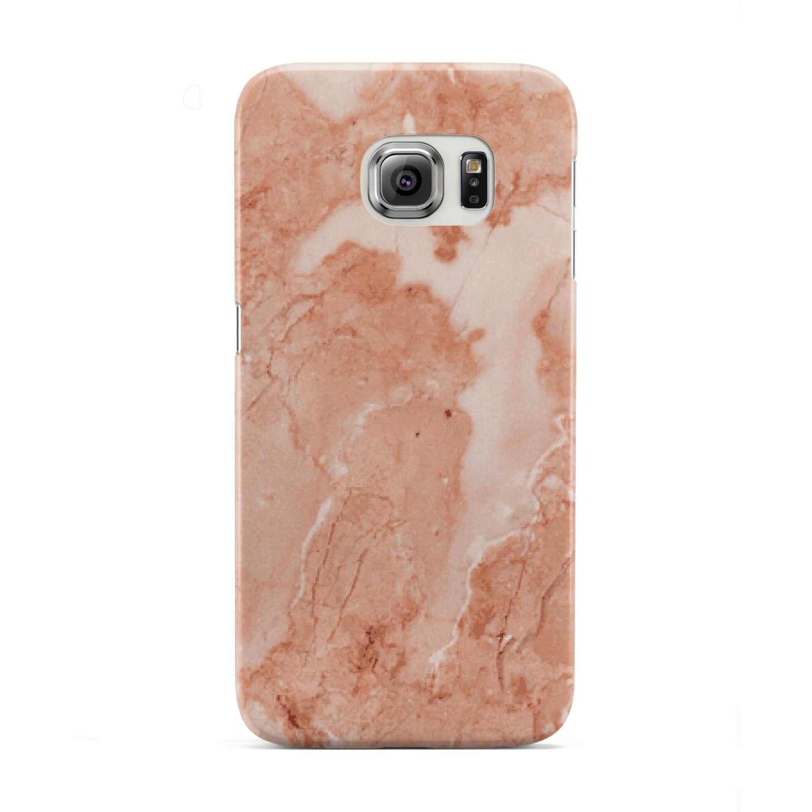 Faux Marble Red Samsung Galaxy S6 Edge Case