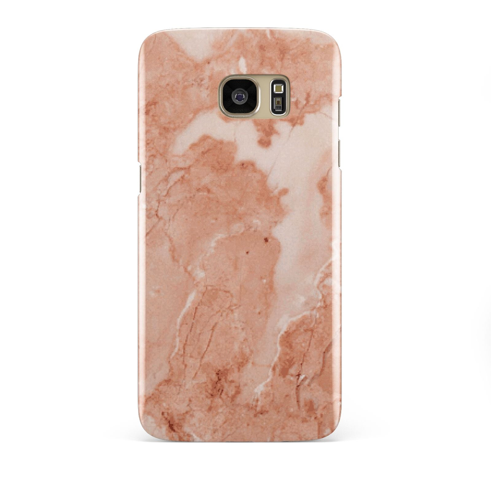 Faux Marble Red Samsung Galaxy S7 Edge Case