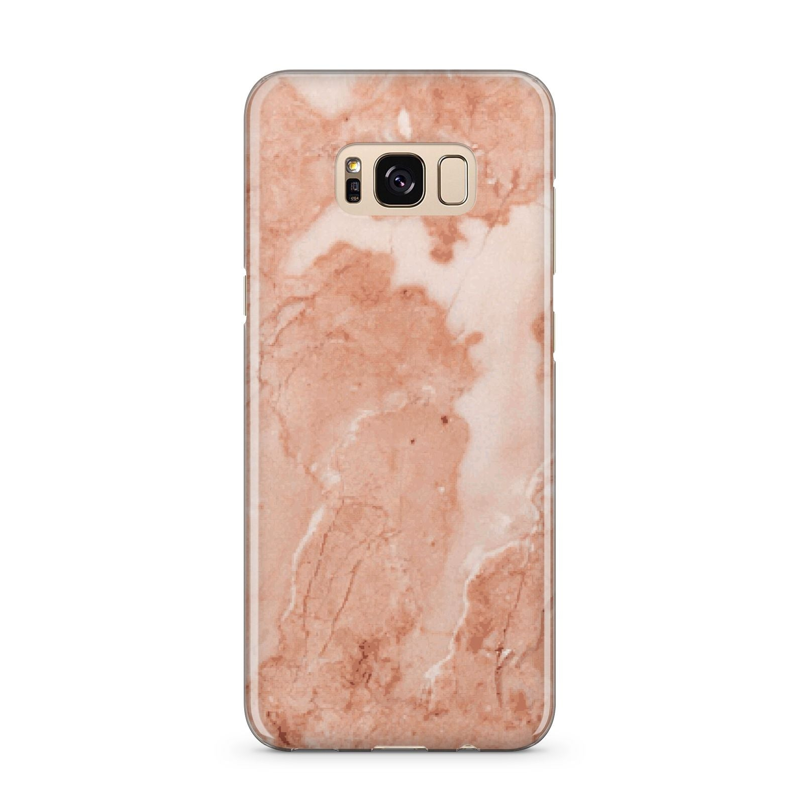 Faux Marble Red Samsung Galaxy S8 Plus Case