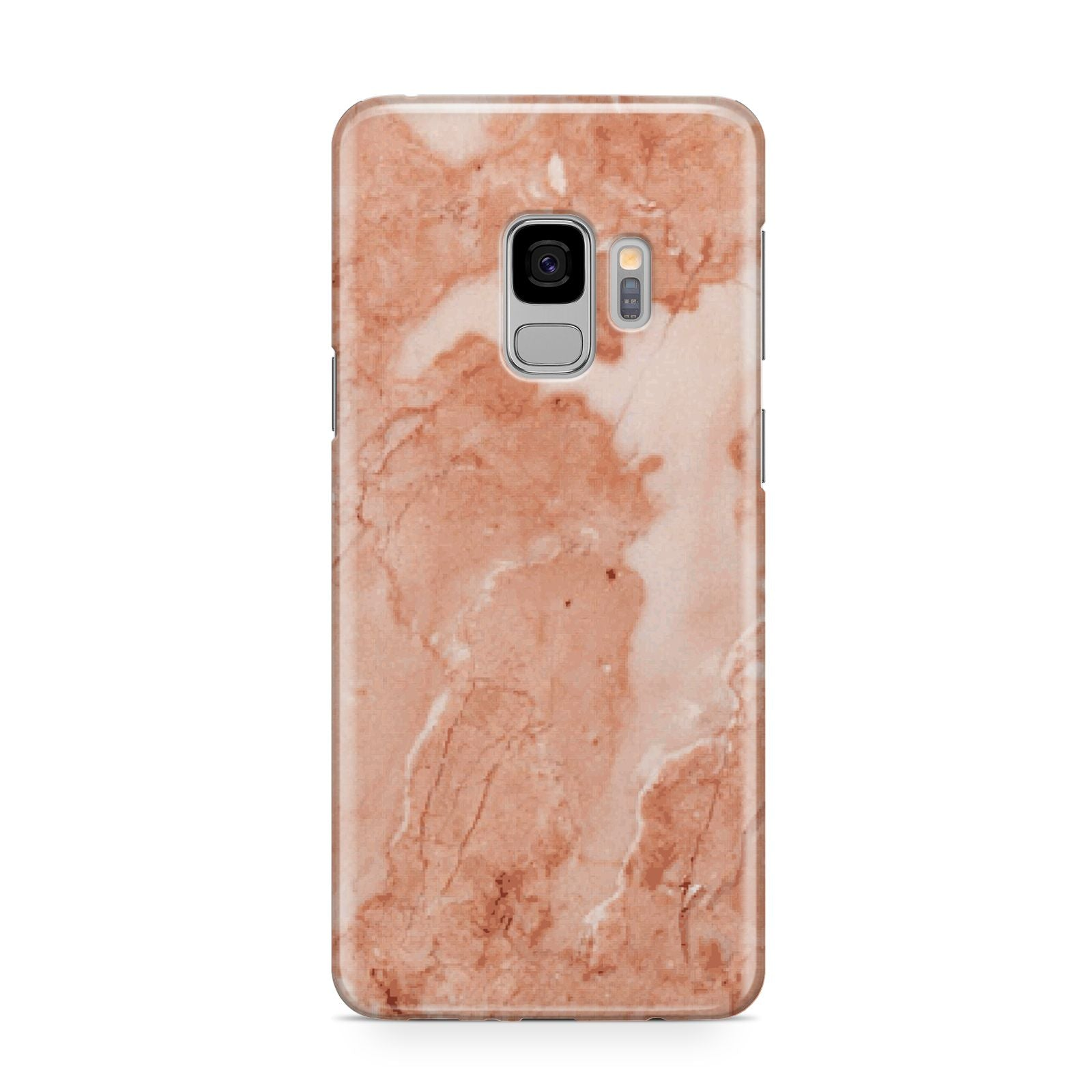 Faux Marble Red Samsung Galaxy S9 Case
