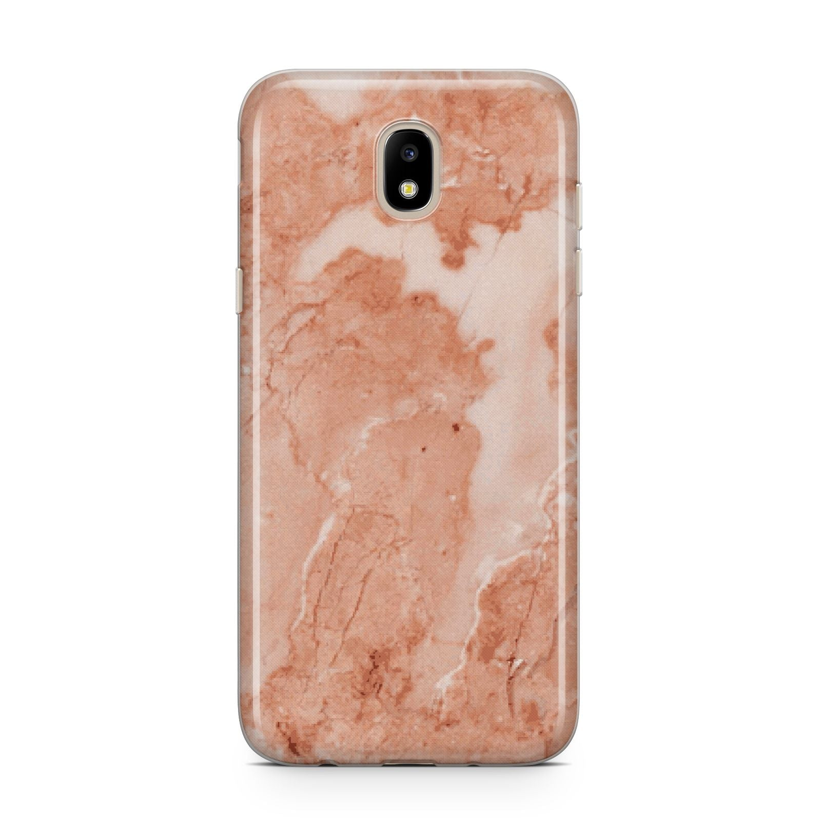 Faux Marble Red Samsung J5 2017 Case