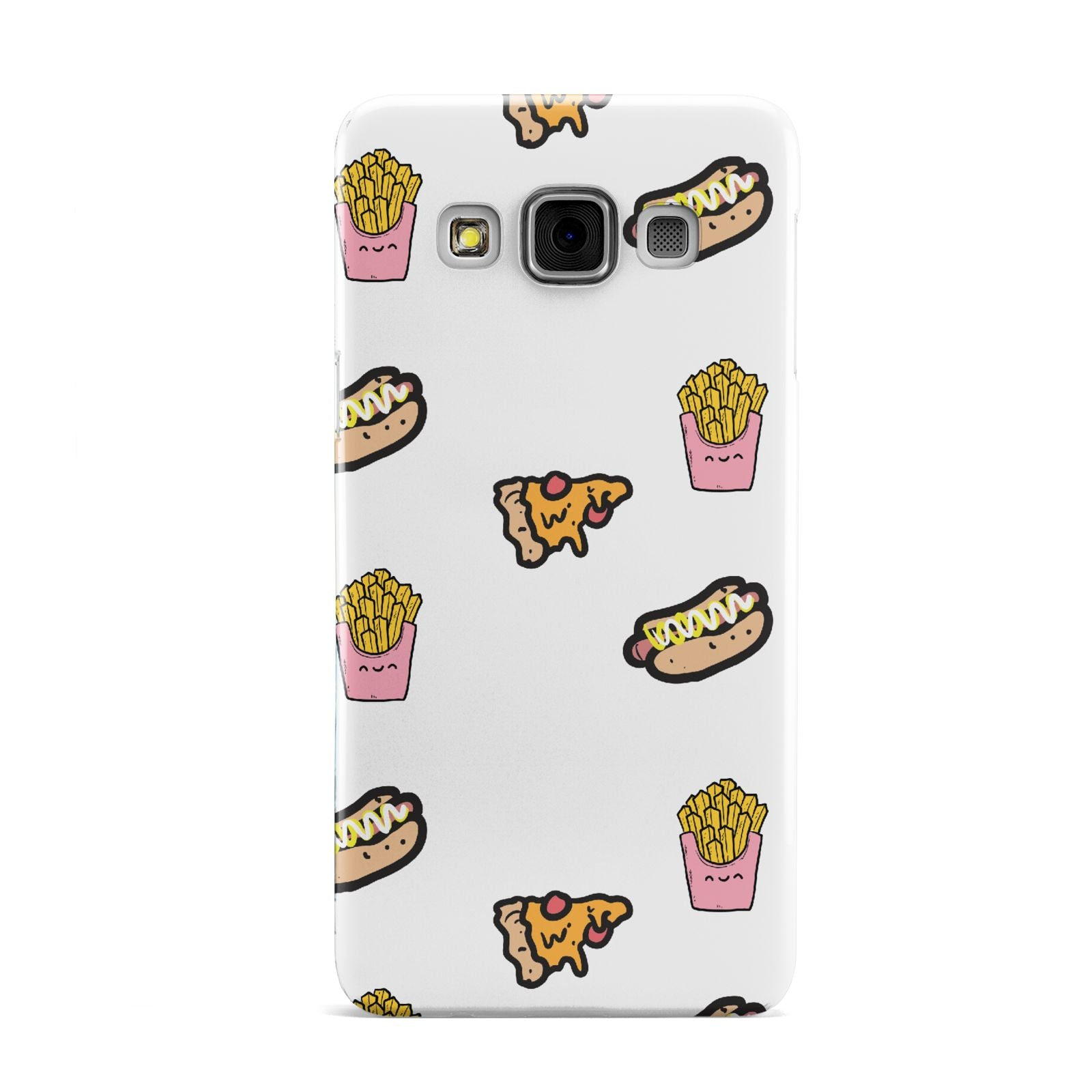 Fries Pizza Hot Dog Samsung Galaxy A3 Case