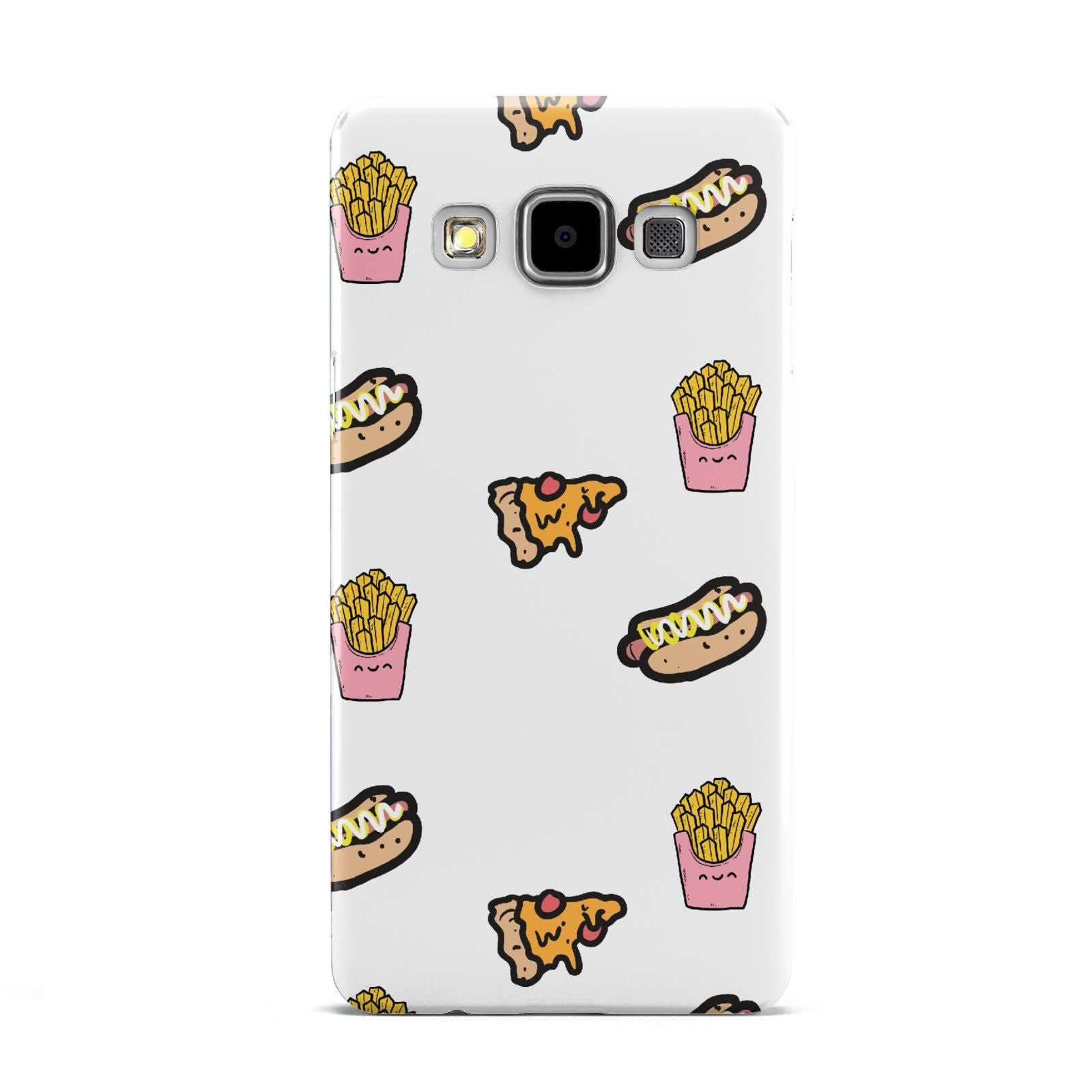Fries Pizza Hot Dog Samsung Galaxy A5 Case