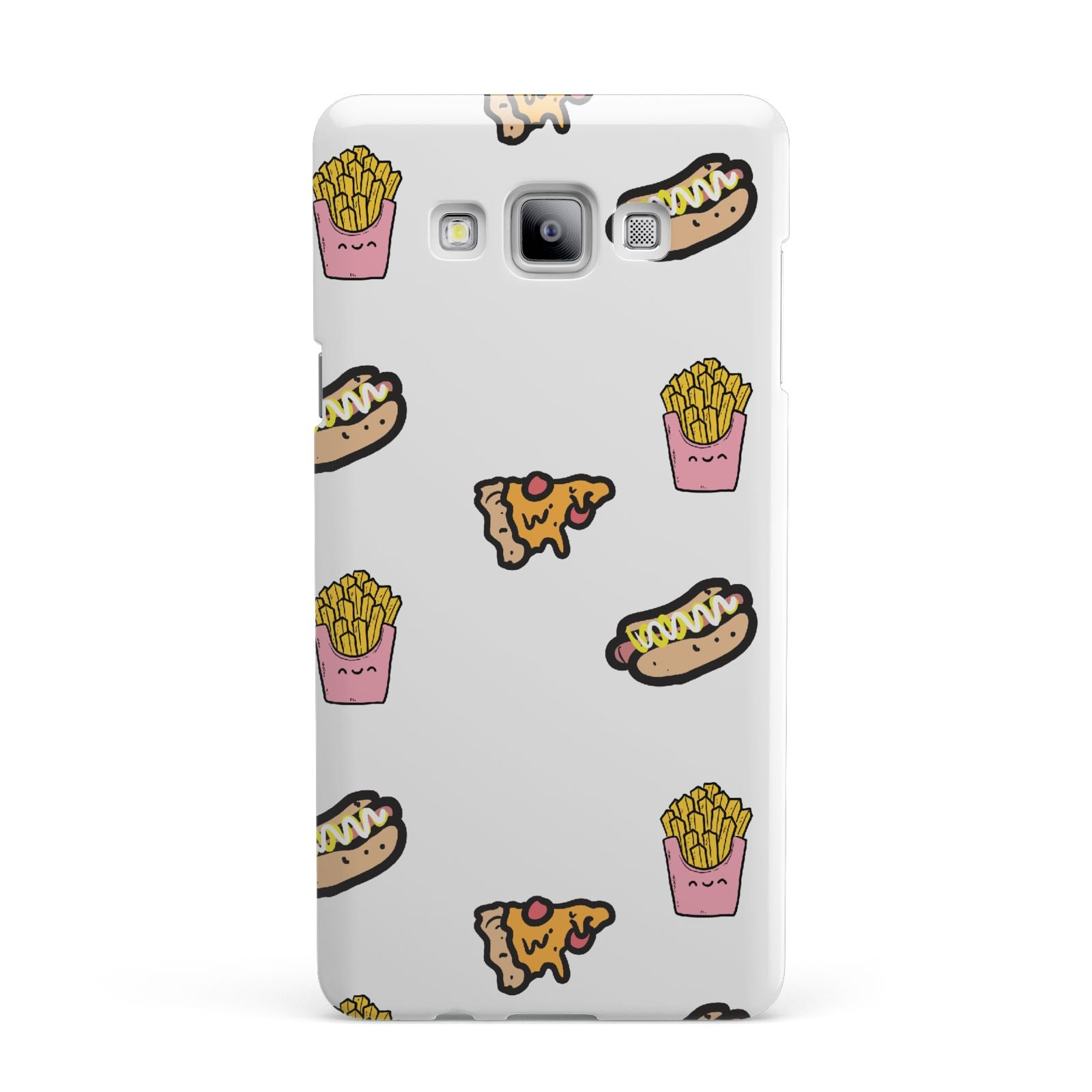 Fries Pizza Hot Dog Samsung Galaxy A7 2015 Case