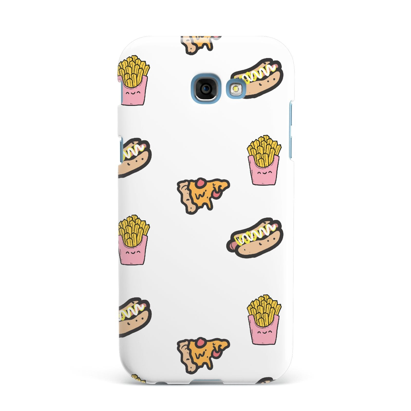 Fries Pizza Hot Dog Samsung Galaxy A7 2017 Case