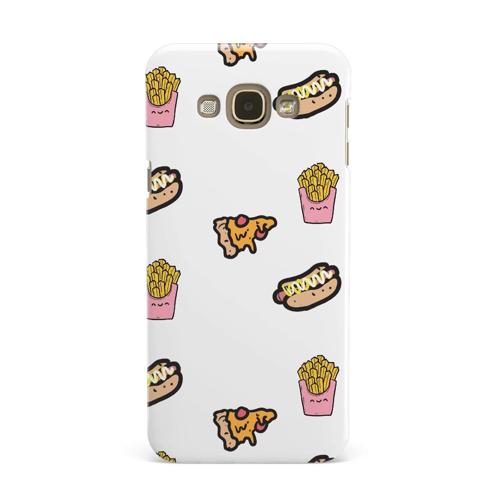 Fries Pizza Hot Dog Samsung Galaxy A8 Case