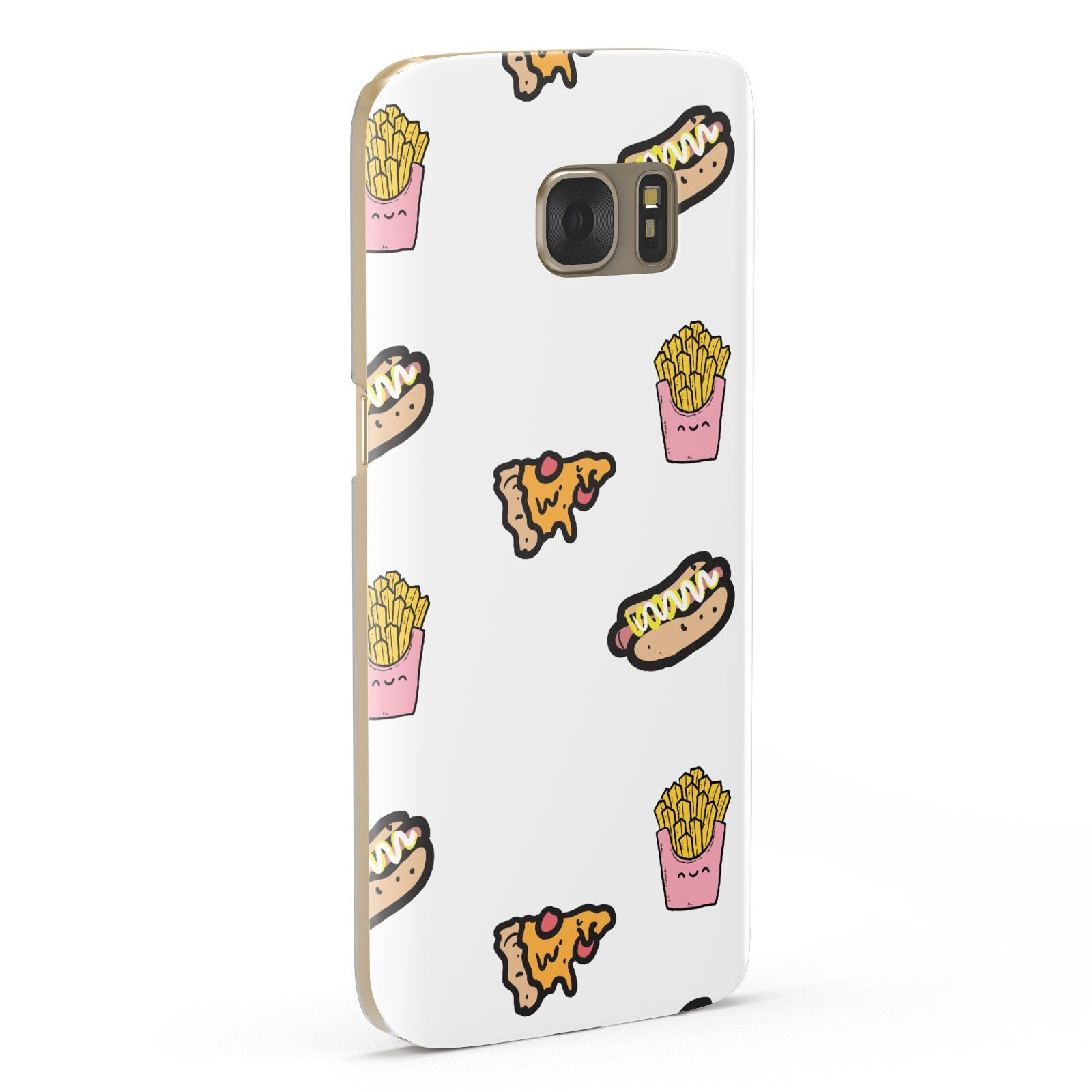 Fries Pizza Hot Dog Samsung Galaxy Case Fourty Five Degrees