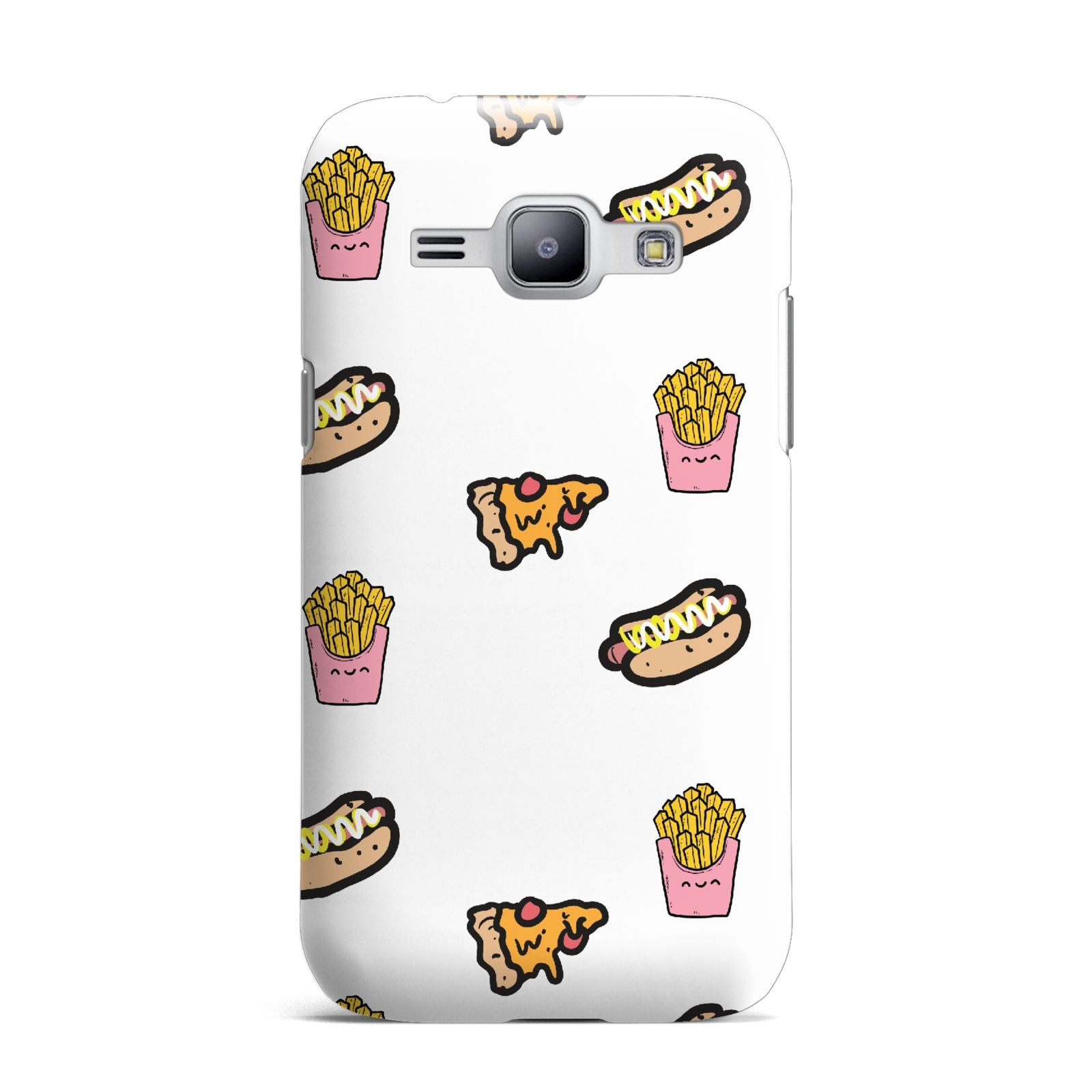 Fries Pizza Hot Dog Samsung Galaxy J1 2015 Case