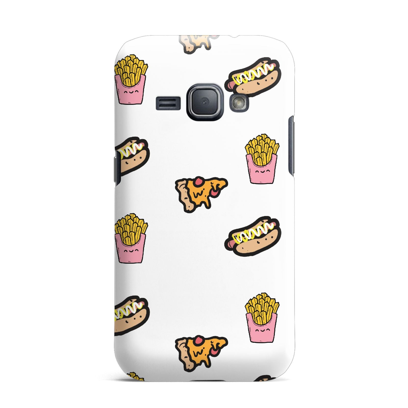 Fries Pizza Hot Dog Samsung Galaxy J1 2016 Case
