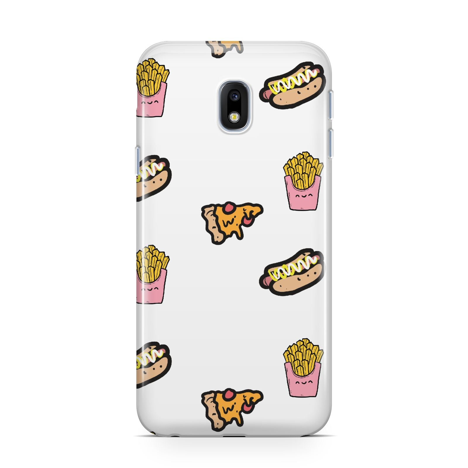 Fries Pizza Hot Dog Samsung Galaxy J3 2017 Case