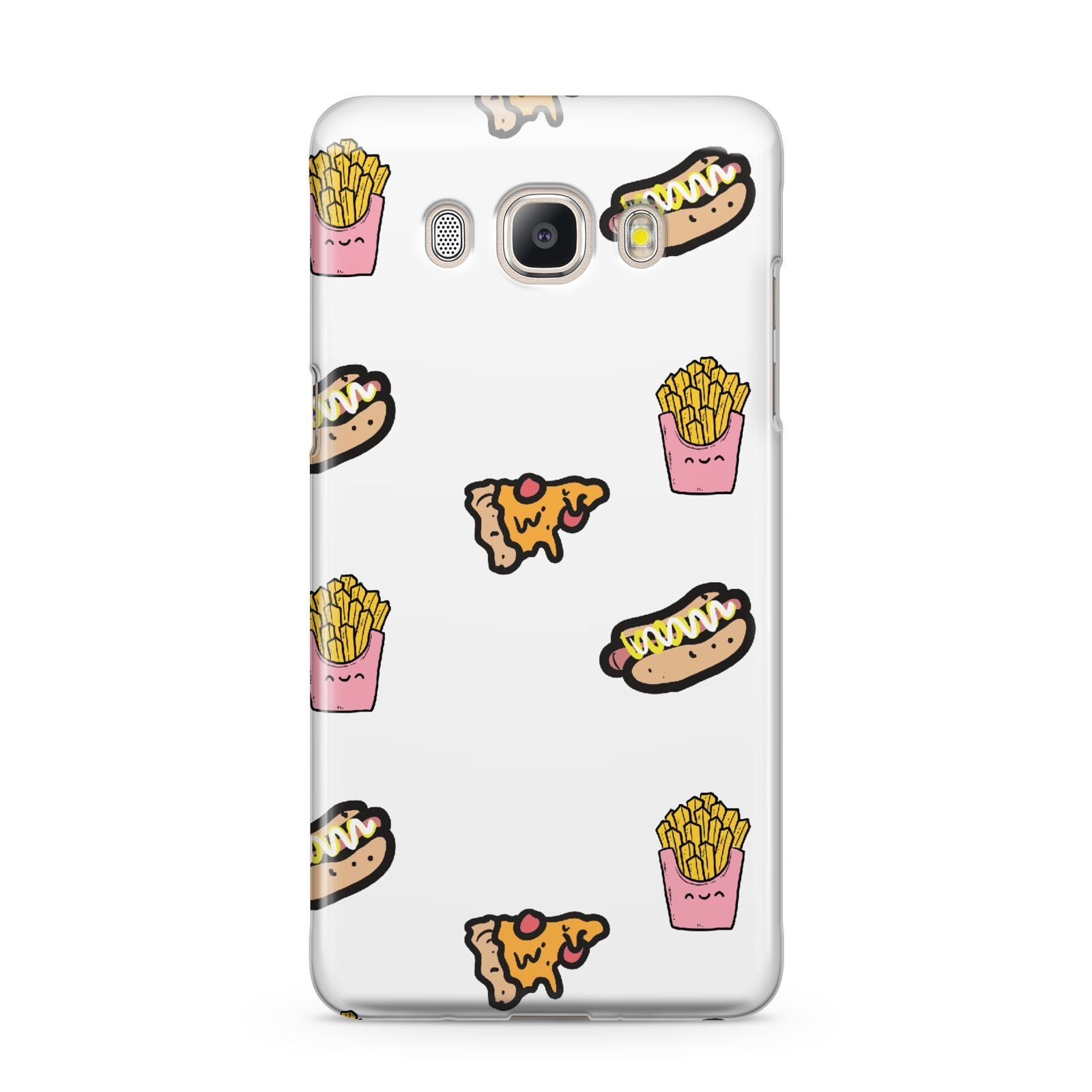 Fries Pizza Hot Dog Samsung Galaxy J5 2016 Case