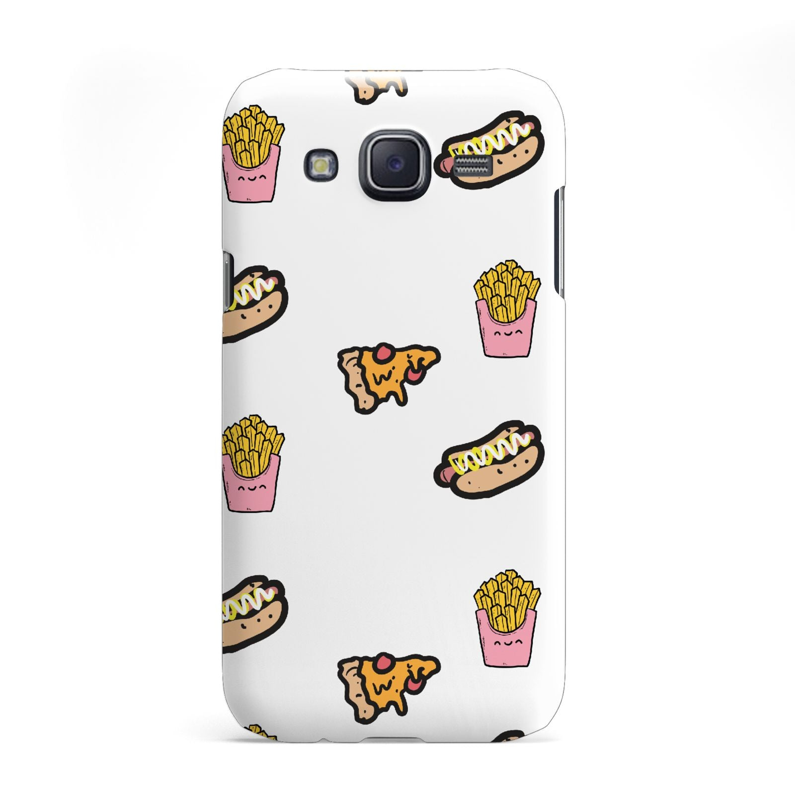 Fries Pizza Hot Dog Samsung Galaxy J5 Case