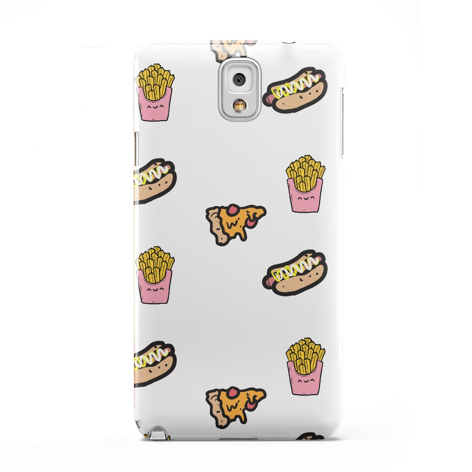 Fries Pizza Hot Dog Samsung Galaxy Note 3 Case