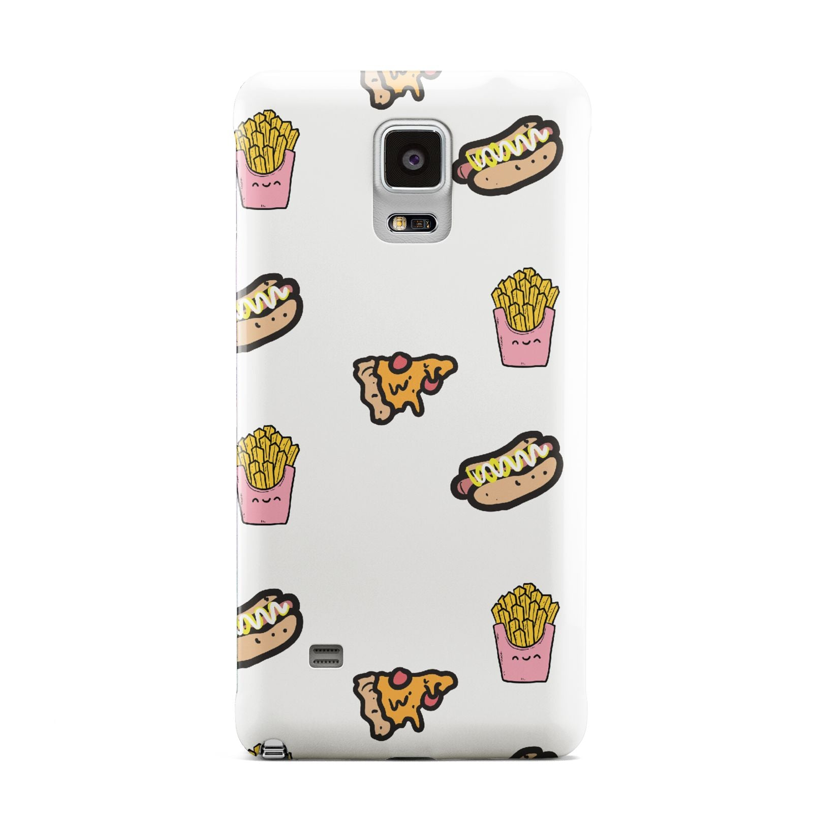 Fries Pizza Hot Dog Samsung Galaxy Note 4 Case