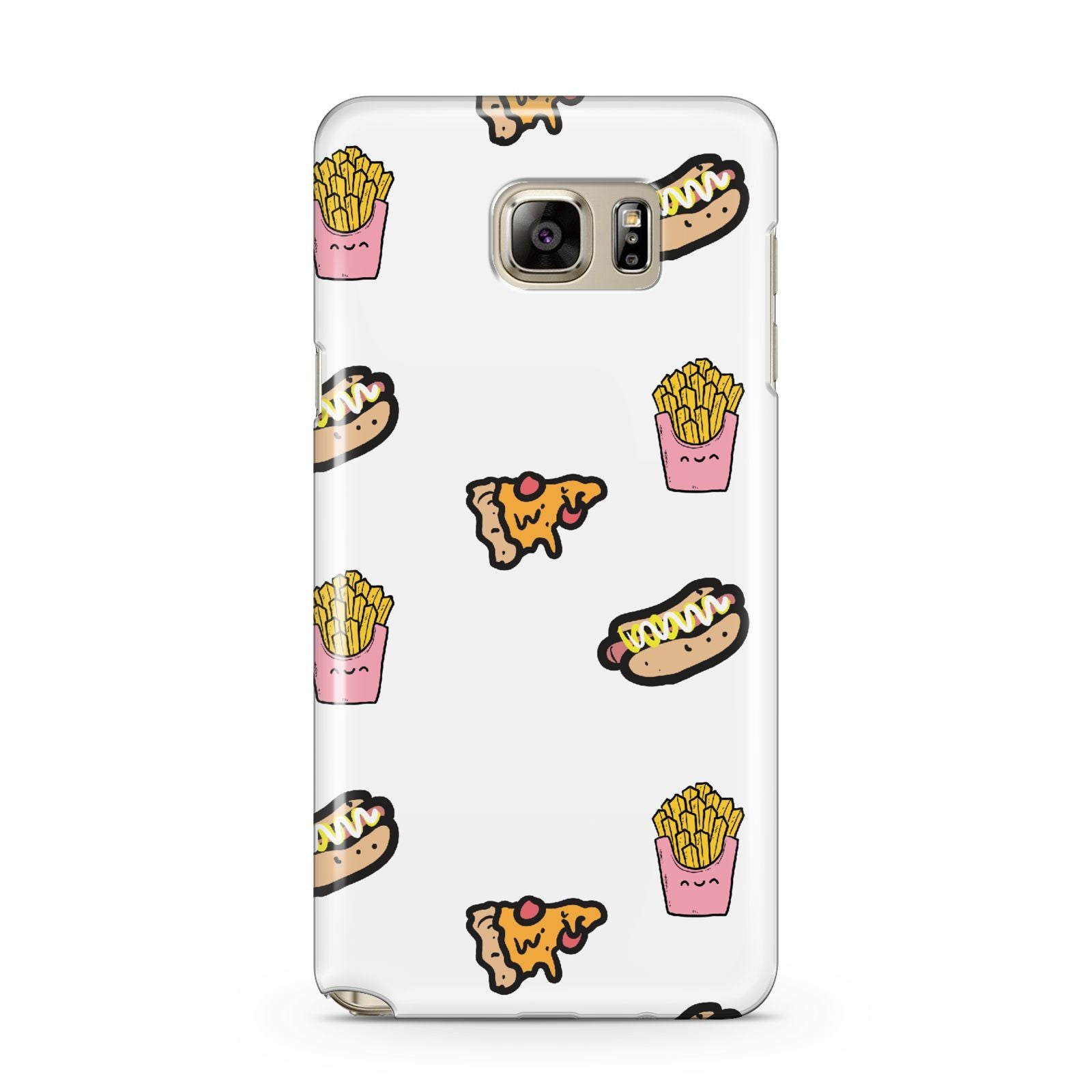 Fries Pizza Hot Dog Samsung Galaxy Note 5 Case