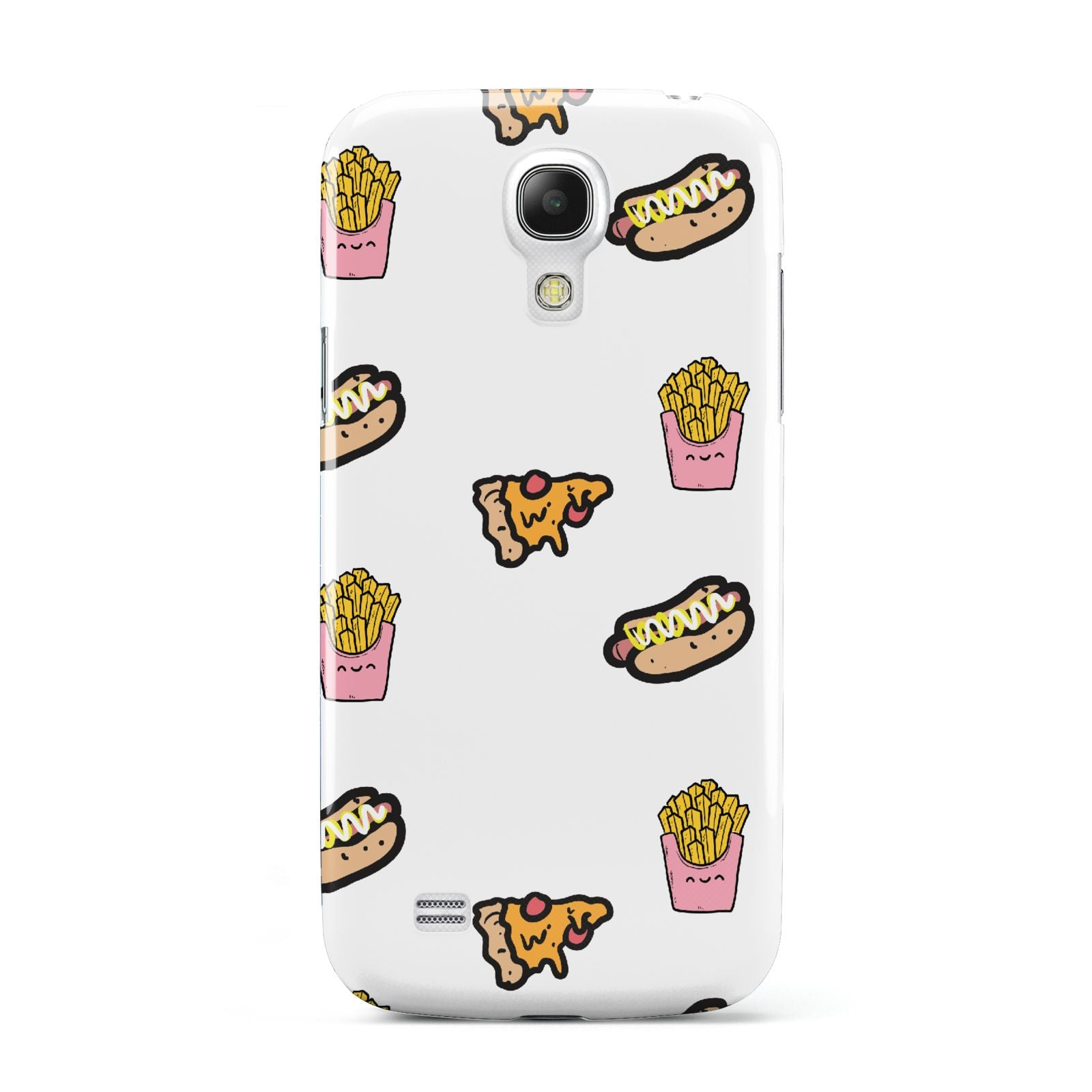 Fries Pizza Hot Dog Samsung Galaxy S4 Mini Case
