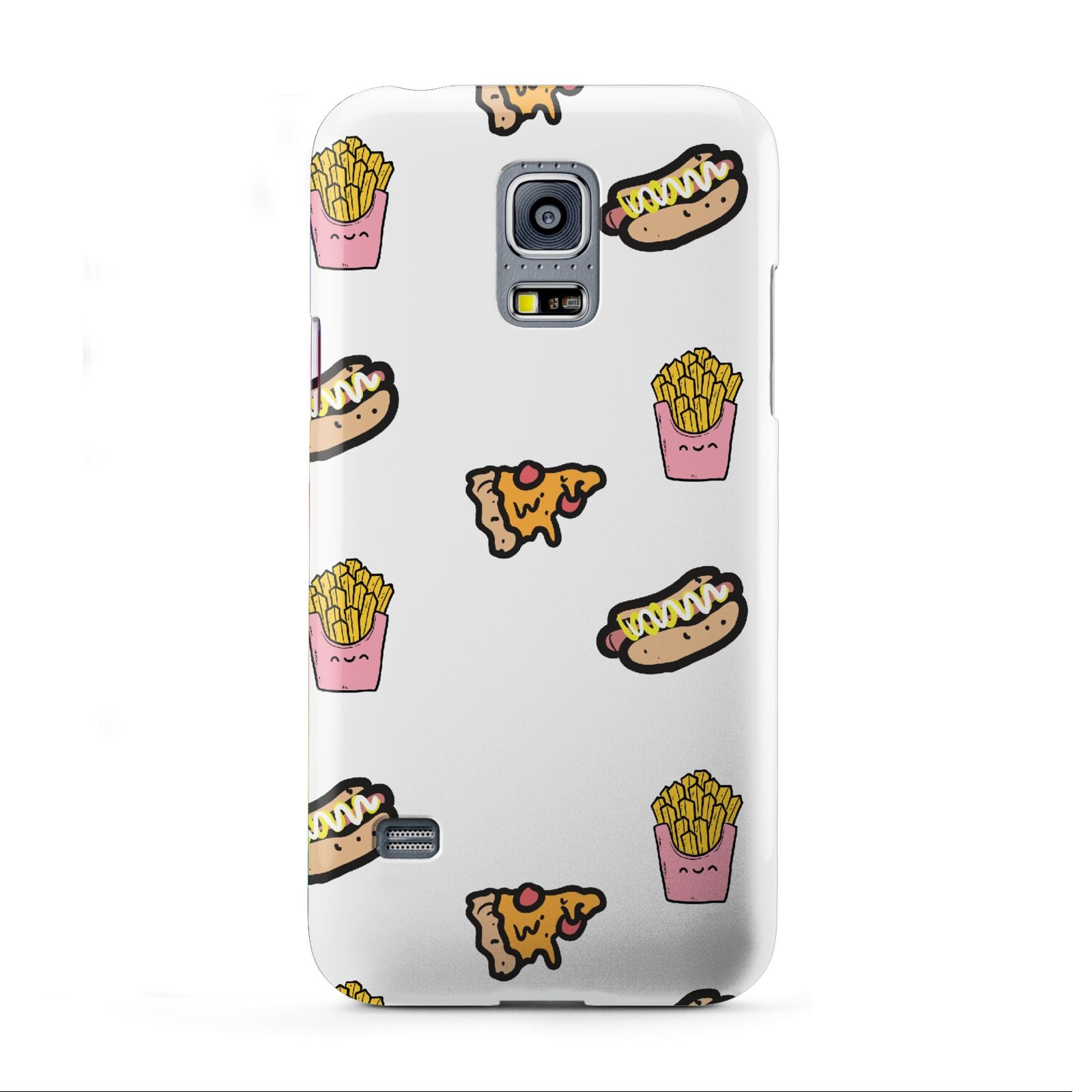 Fries Pizza Hot Dog Samsung Galaxy S5 Mini Case