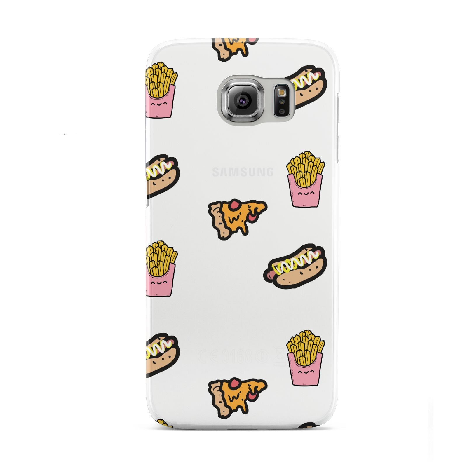 Fries Pizza Hot Dog Samsung Galaxy S6 Case