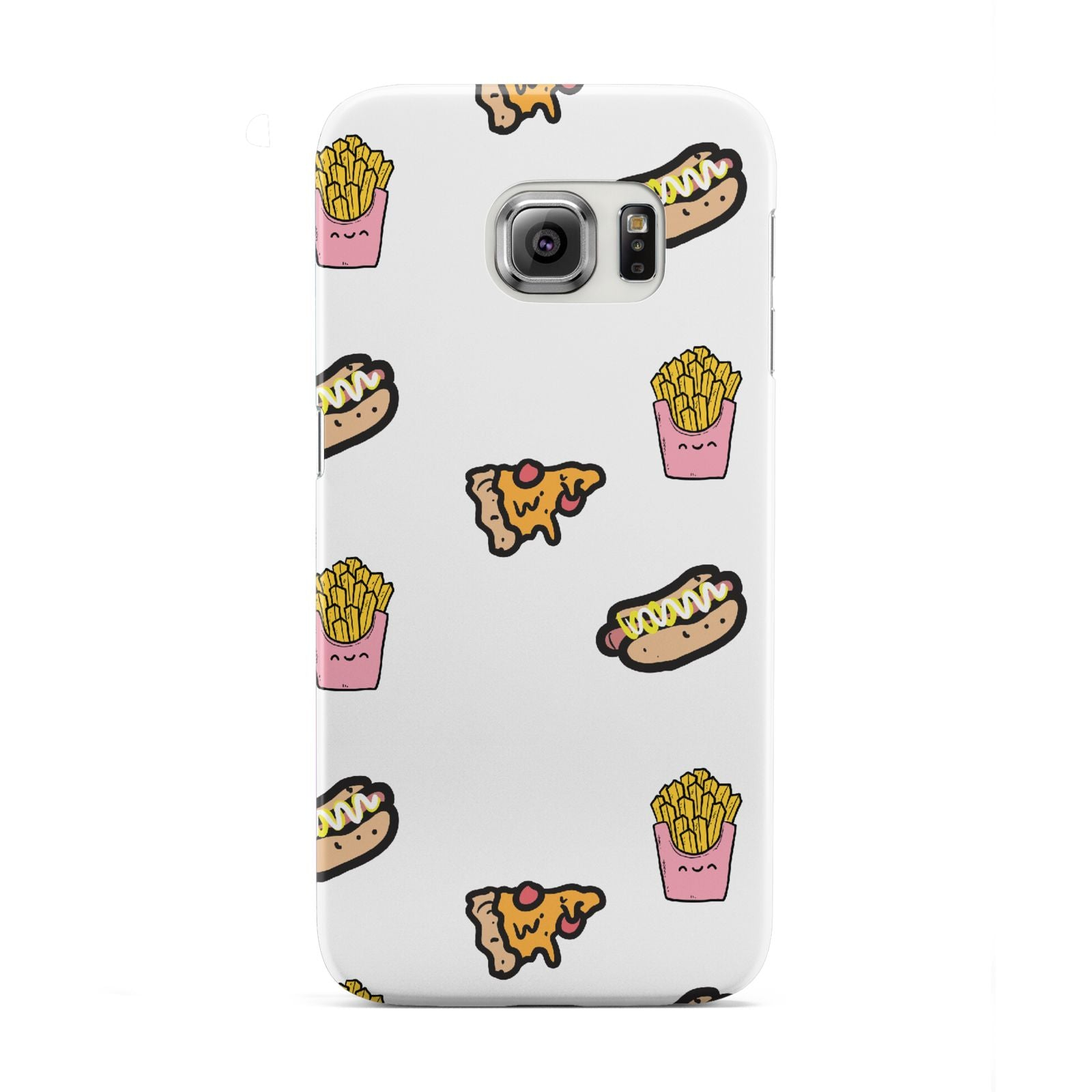 Fries Pizza Hot Dog Samsung Galaxy S6 Edge Case