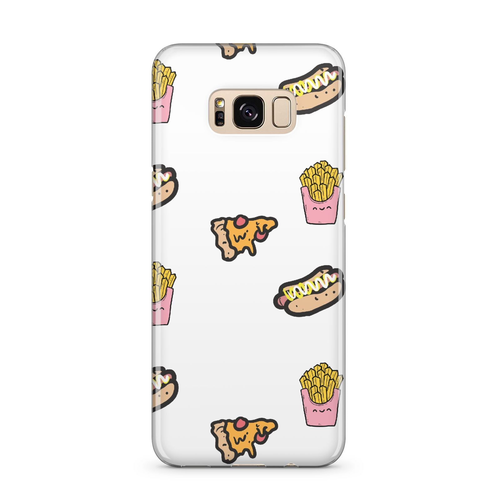 Fries Pizza Hot Dog Samsung Galaxy S8 Plus Case