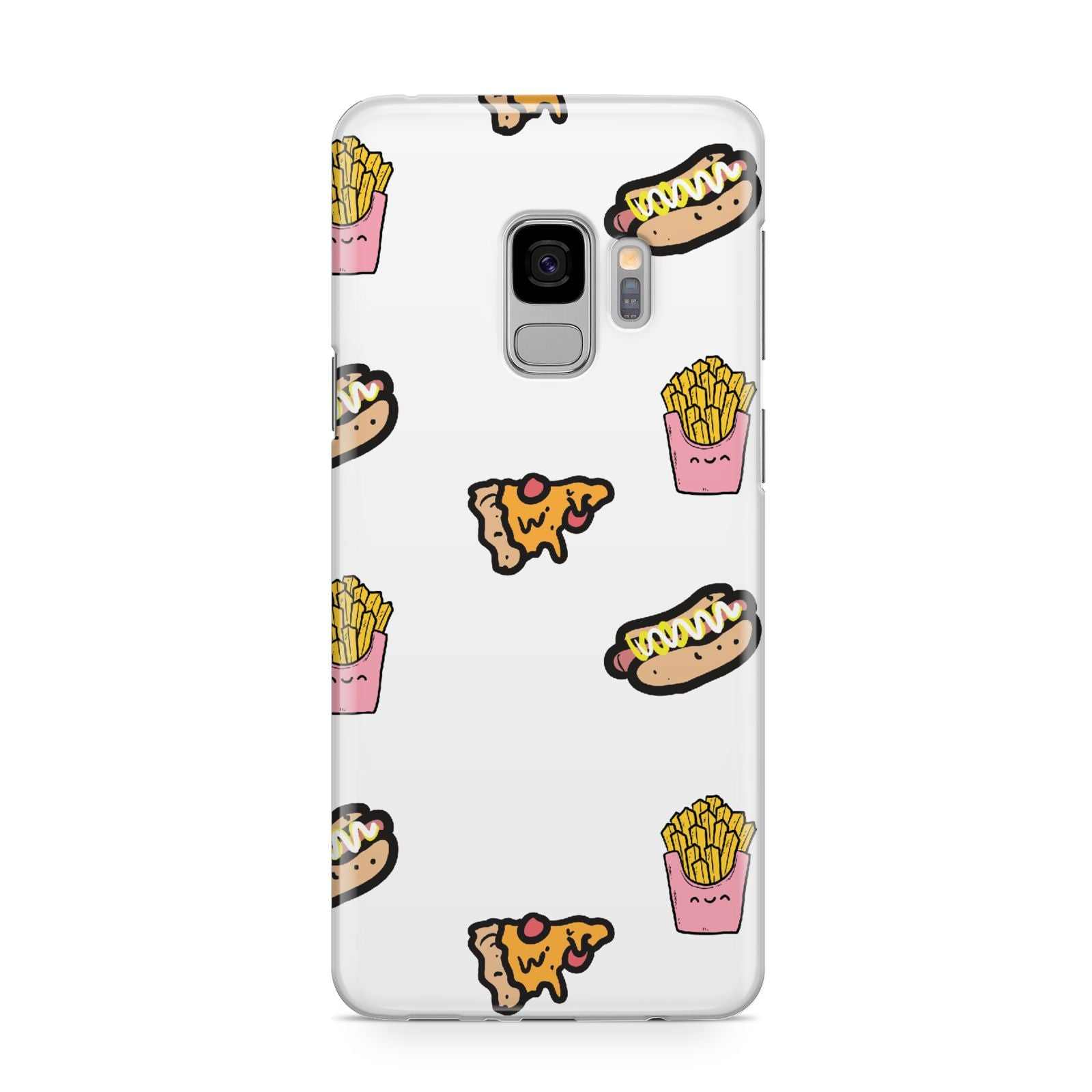 Fries Pizza Hot Dog Samsung Galaxy S9 Case