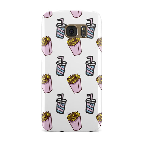 Fries & Shake Fast Food Samsung Galaxy Case
