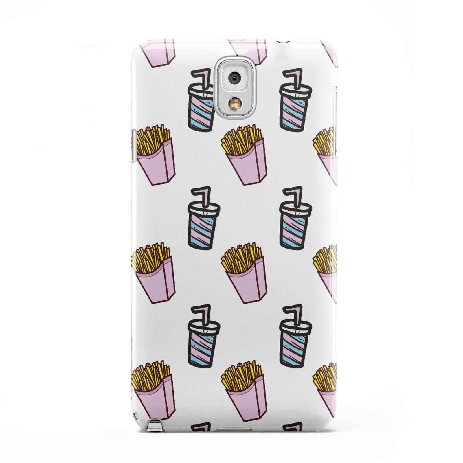 Fries Shake Fast Food Samsung Galaxy Note 3 Case
