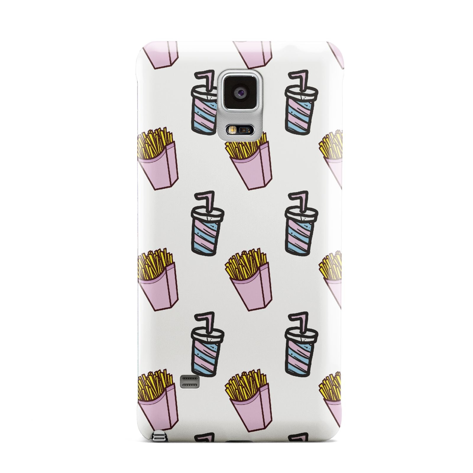 Fries Shake Fast Food Samsung Galaxy Note 4 Case