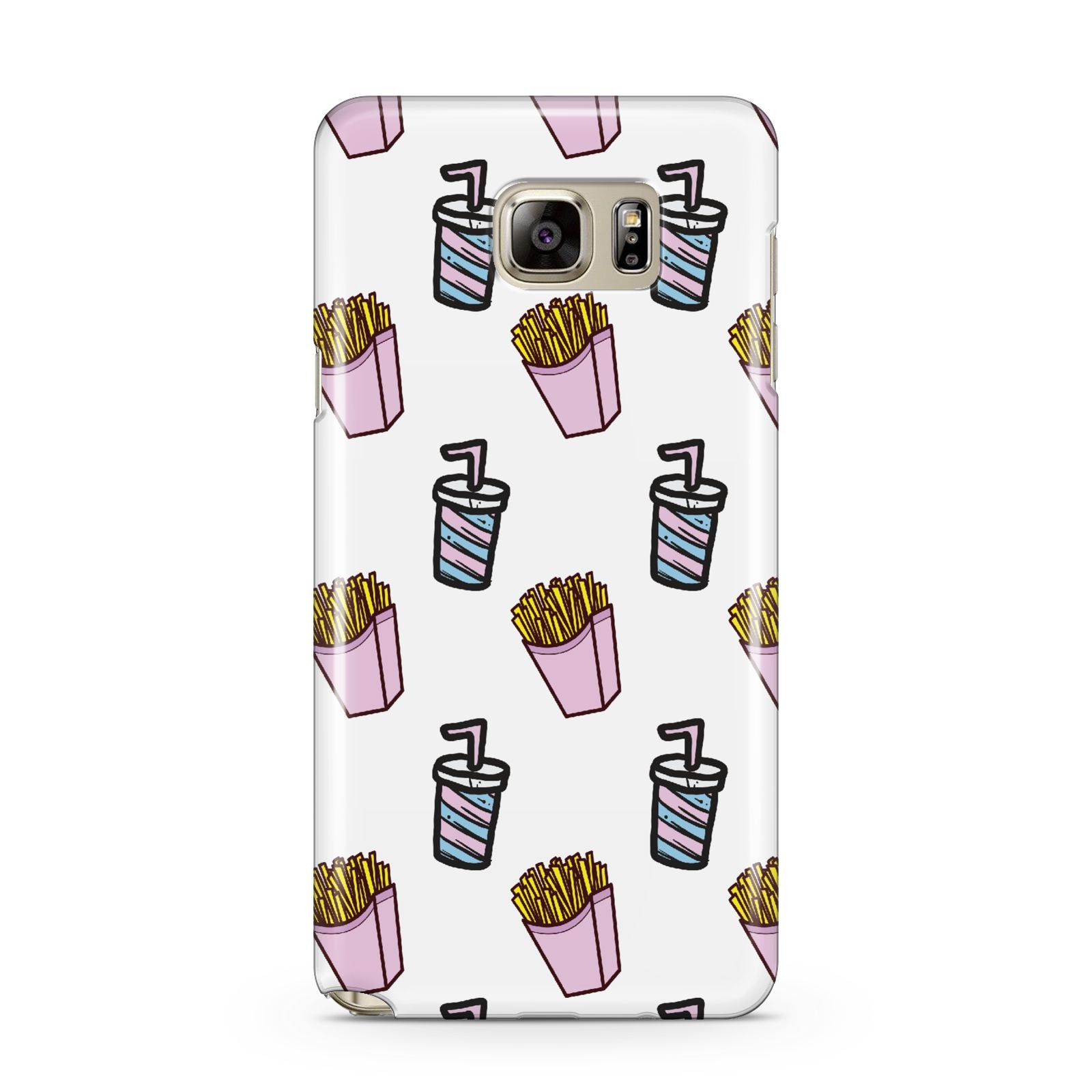 Fries Shake Fast Food Samsung Galaxy Note 5 Case