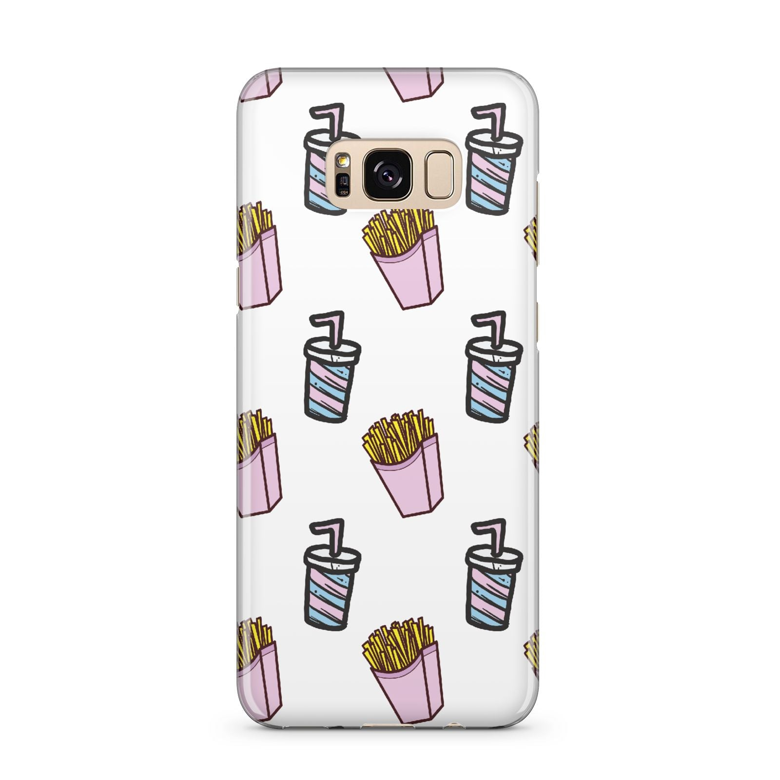Fries Shake Fast Food Samsung Galaxy S8 Plus Case