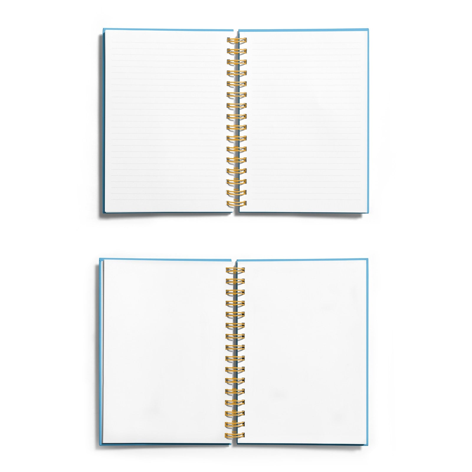 Personalised Coolest Teacher Gold Foil Notebook Choice of Paper