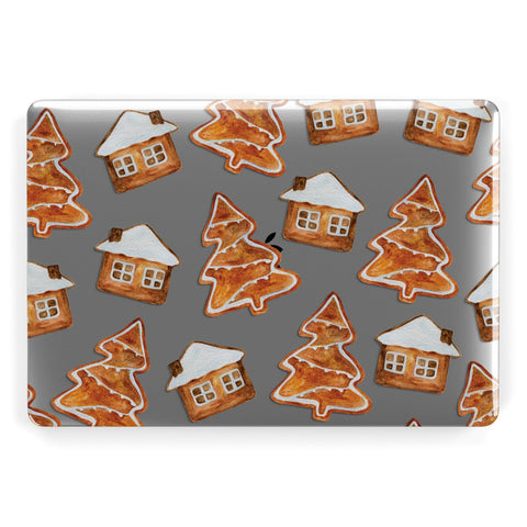 Gingerbread House & Tree Macbook Case