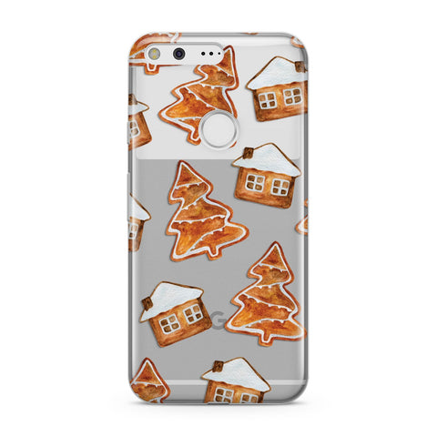 Gingerbread House & Tree Google Case