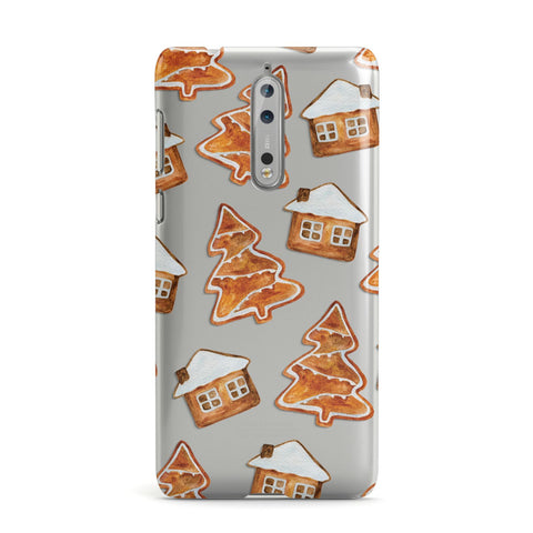 Gingerbread House & Tree Nokia Case
