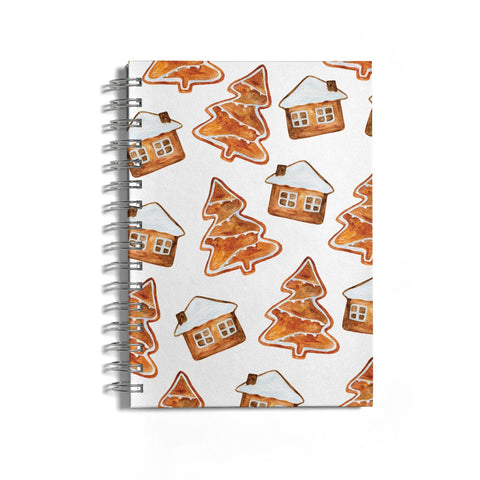 Gingerbread House & Tree Notebook