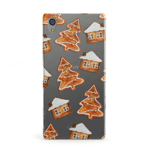 Gingerbread House & Tree Sony Case