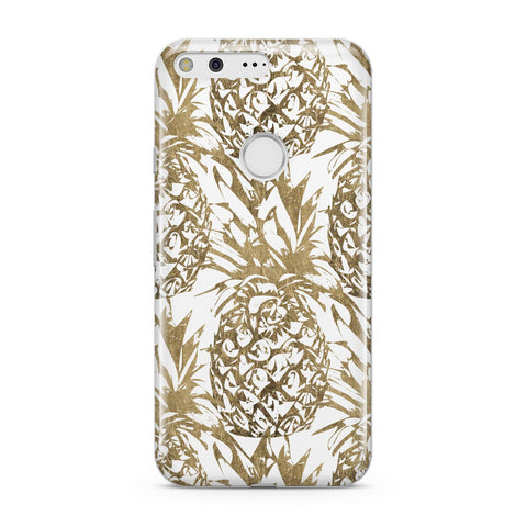Gold Pineapple Fruit Google Case