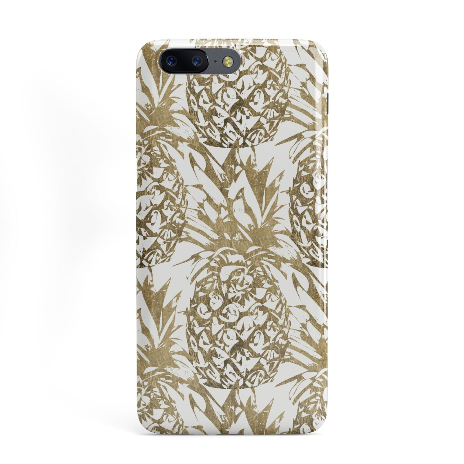 Gold Pineapple Fruit OnePlus Case