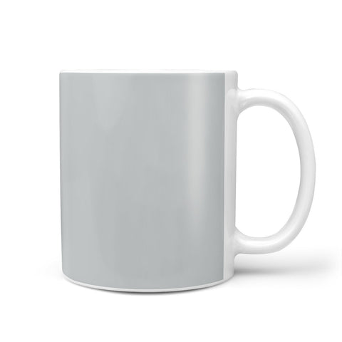 Grey Personalised Initials Mug