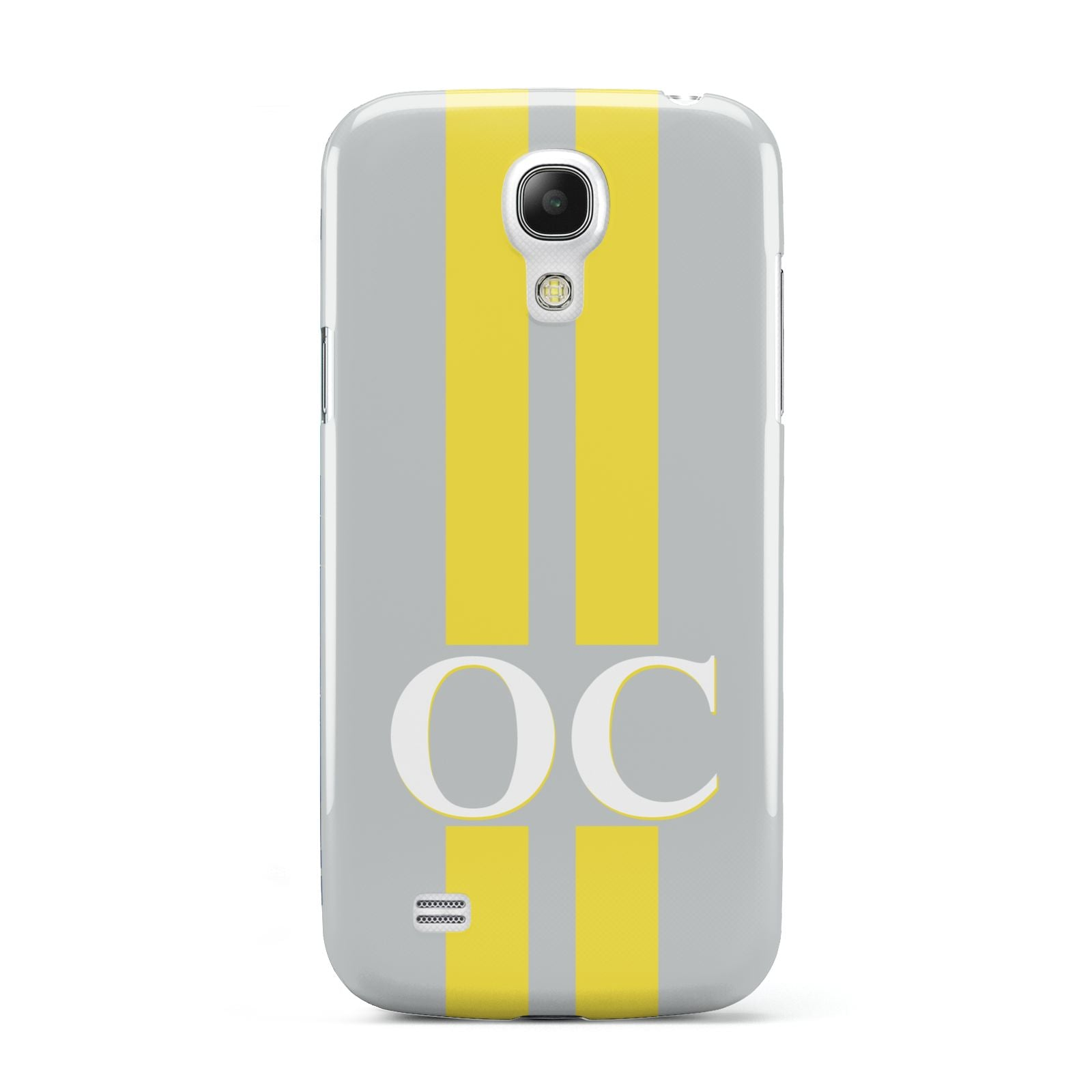Grey Personalised Initials Samsung Galaxy S4 Mini Case