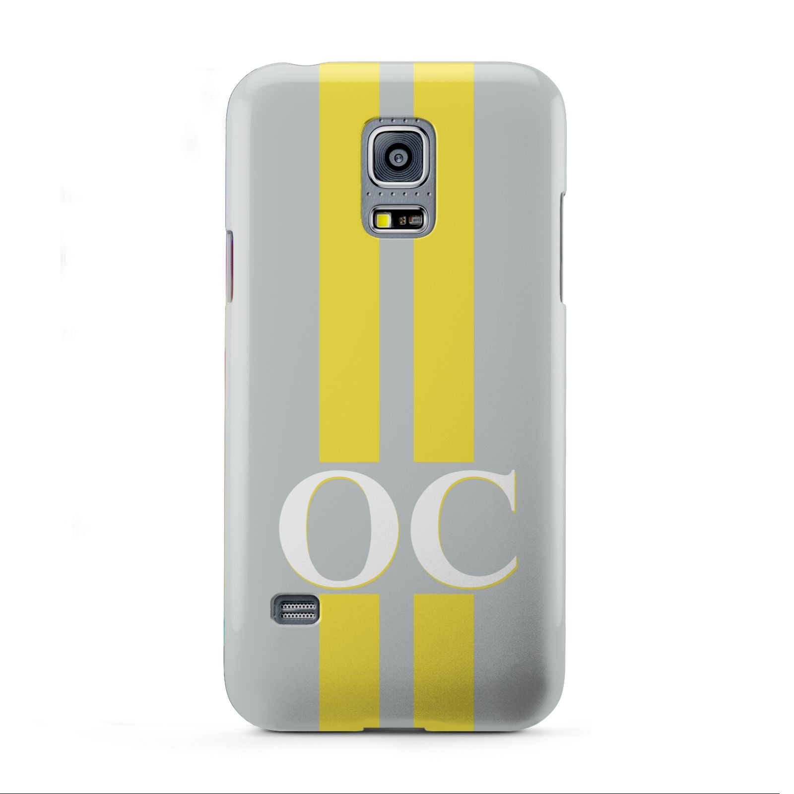 Grey Personalised Initials Samsung Galaxy S5 Mini Case