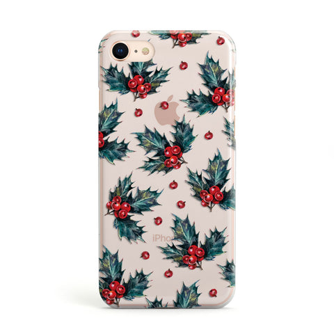 Holly & berry iPhone Case