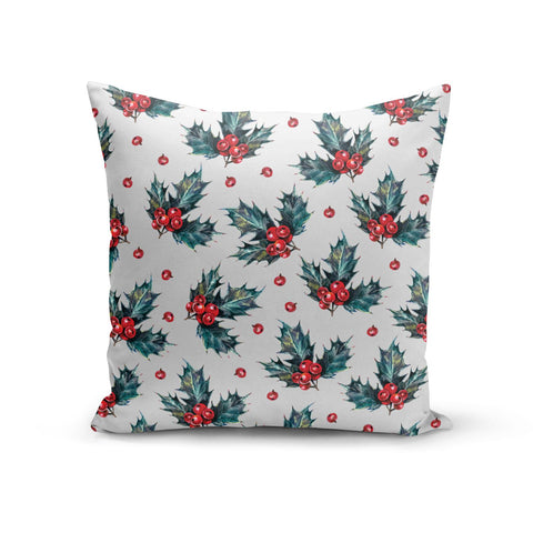 Holly & berry Cushion